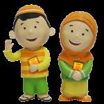 Hafiz dan Hafizah Talking Doll Versi 4