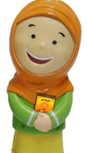 Hafizah Doll Orange